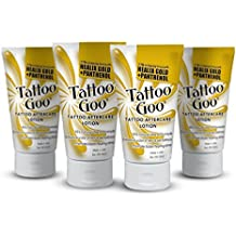 """Tattoo Goo""""The Lotion"""" with Healix Gold Formula Special - Four (4) Lotions"""