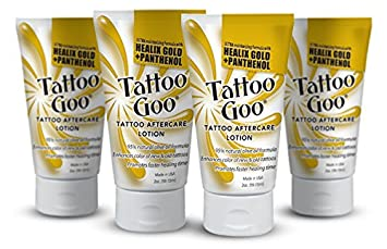 "Tattoo Goo ""The Lotion"" with Healix Gold Formula Special"