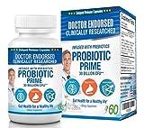 Probiotics Supplements 30 Billion CFU – Prebiotics and Probiotics for Women and Men, 60 Delayed Release Capsules for Digestive and Gut Health, Shelf Stable Probiotic Supplement. For Sale