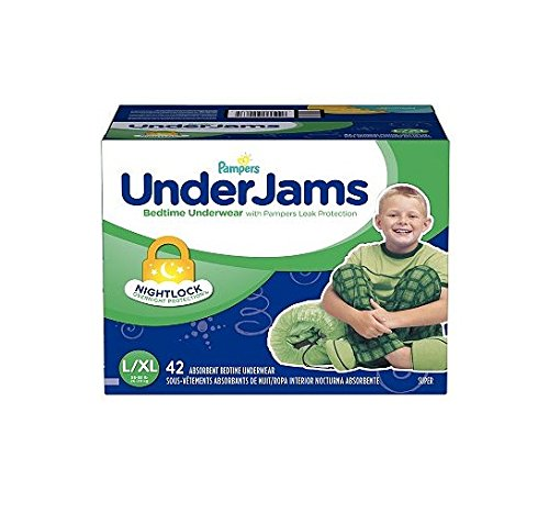 Pampers UnderJams Bedtime Overnight Protection Underwear For