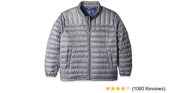 14d576bc1642ef Tommy Hilfiger Men s Packable Down Jacket (Regular and Big   Tall Sizes) at  Amazon Men s Clothing store