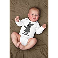 Funny Your Little Snuggle Bunny Baby Bodysuit With Rabbit Animal Pun