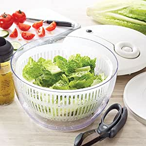 Amazon Com Pampered Chef Salad And Berry Spinner Kitchen