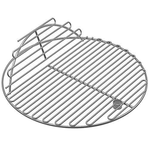 Las rejillas de cocinar redondas del acero inoxidable del SUS304 del Bbq de SELEWARE / la rejilla de cocinar cabidas para la parrilla de cerámica de Kamado, ...