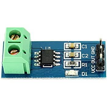 Hall Effect Current Sensor ACS712 Module 20A for Speed