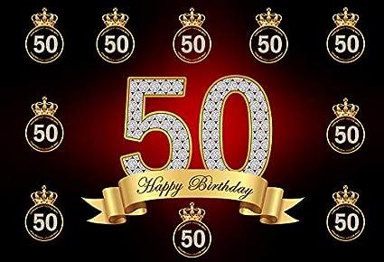 Telón de Fondo de 50 cumpleaños para Hombre, diseño de ...