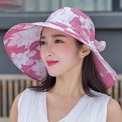 [PLKOI Sun Hat Ms. Summer Leisure Sun Hats Foldable Beach Outdoor Sun Hat Cooler] (Ms Swimming Costume)