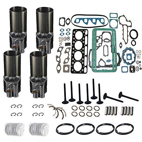 4D88E-3B3C3G3H 4TNE88 Diesel Engine Overhaul Rebuild Kit For Yanmar :Piston,Piston Ring,Cylinder Liner,Head Gasket Set, Bearing Kit