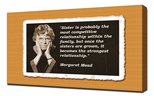 Margaret Mead Quotes 4 - Canvas Art Print