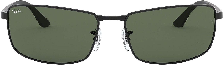 Ray-Ban Mod. 3498 Gafas de sol, Black, 61 para Hombre