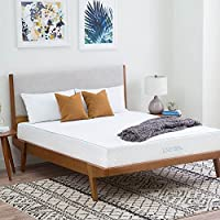 LINENSPA 10 Inch Gel Memory Foam Mattress - Dual Layered - CertiPUR-US Certified - Medium Feel - 25 Year Warranty - Queen Size