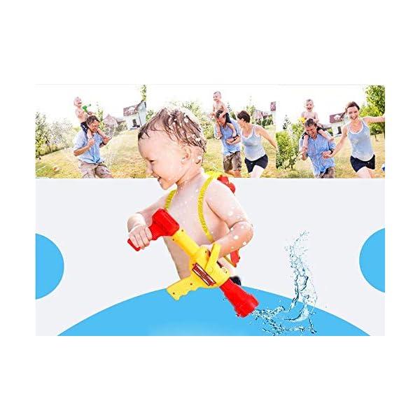 QIANGUANG® Vigile del Fuoco Zaino Pistole d'Acqua Blaster Giochi sparatutto in Acqua e Giocattoli da Spiaggia (Vigile… 4 spesavip