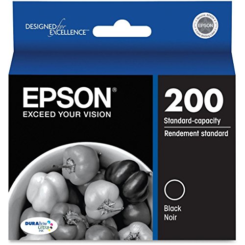 Epson T200120 DURABrite Ultra Standard-Capacity Black Ink Cartridge