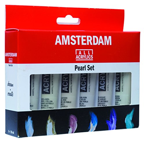 Amsterdam Acrylic Standard Series Paint Set 6x20ml Pearl