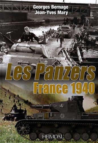 France 1940 Les Panzers  [Mary, Jean-Yves] (Tapa Dura)