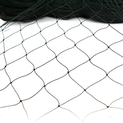 F2C 25' x 50' Net Netting for Bird Poultry Aviary Game Pens Anti Bird Netting 25-Foot x 50-Foot Netting (50' X 50')
