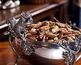 Vagabond House Pewter Squirrel Nut Bowl