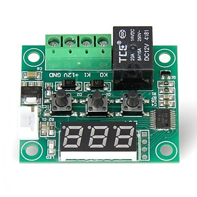 Amazon.com: FOR-Arduino Arduino Kits, 12V DC Digital Cooling/Heating Thermostat Temp Control -50-110 c Temperature Controller 10A Relay With Waterproof ...