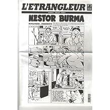 JOURNAL L'ÉTRANGLEUR NO.03 : NESTOR BURMA, BOULEVARD OSSEMENTS
