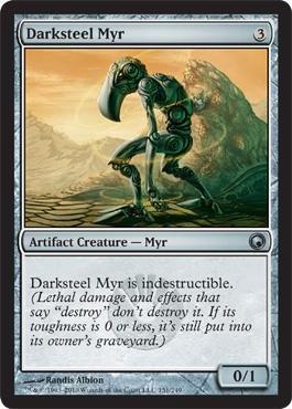 Magic: the Gathering - Darksteel Myr - Scars of (Darksteel Magic)