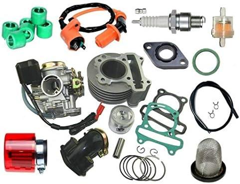 Unbranded. Racing Zylinder 47mm VERGASER für REX RS 500 50 4T Luft bis2017