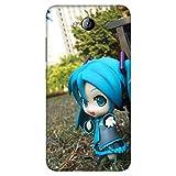 Bhishoom B8226 Designer 3D Printed Hard Back Case Cover for Micromax Canvas Play Q355 (Cute :: Doll :: Kawaii :: Soft Toy)