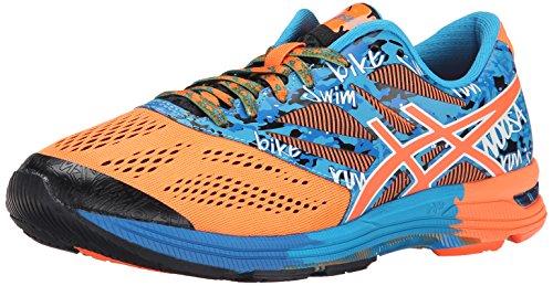 Chaussures De Course Pour Homme Gel-noosa Tri 10, Orange Chaud / Orange Chaud / Bleu Électrique, 14 M Us