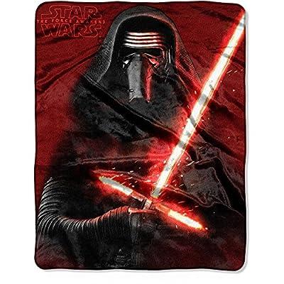 Kylo Ren Star Wars The Force Awakens Sith Blanket Throw
