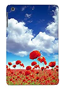 BzigePd7819mYWtv Crazinesswith Awesome Case Cover Compatible With Ipad Mini/mini 2 - Poppy Field