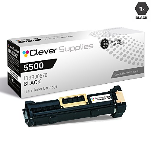 - CS Compatible Drum Cartridge Replacement for Xerox 5500 113R00670 Black for Phaser 5500 Phaser 5500B Phaser 5500DN Phaser 5500DT Phaser 5500DX Phaser 5500N