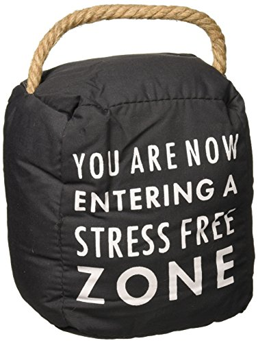 (Pavilion Gift Company Stress Free Zone Door Stopper)