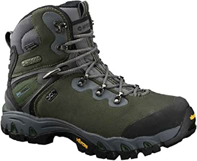 Hi-Tec 40426 Men's Cascadia XCM Event Lace-Up Boots Dark Forest Green 9.5 M US