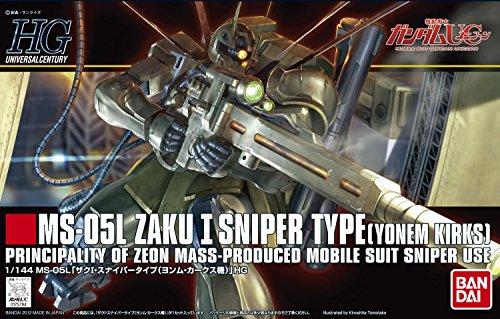 Bandai Hobby #137 Zaku 1 Sniper Bandai HGUC Action Figure