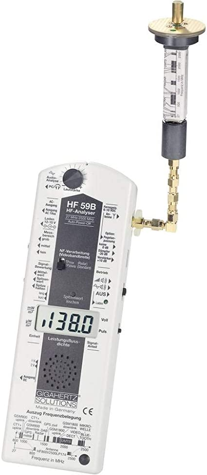 Elektrosmog-Messgerät Gigahertz UBB-HFE59B Hochfrequenz ...