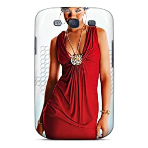 Samsung Galaxy S3 UmE13066VrAk Allow Personal Design Colorful Rihanna Series Shock-Absorbing Hard Phone Case -IanJoeyPatricia