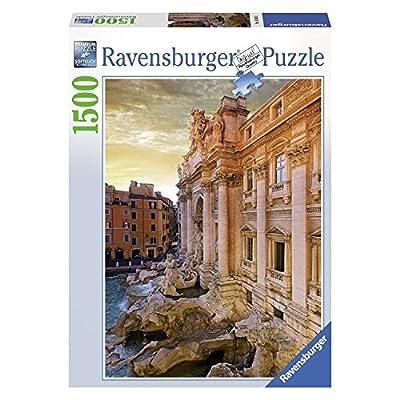Ravensburger 16303 Fontana Di Trevi Roma Puzzle 1500 Pezzi