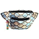 Dragon Scale Fanny Pack, Khaleesi Boho Chic w/Hidden Pocket & Handmade in Guatemala (Rhaegal)