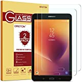 [2 Pack] Samsung Galaxy Tab E 8.0 Screen Protector, OMOTON Tempered Glass Screen Protector for Galaxy Tab E 8.0 2016/2017 Version with [9H Hardness] [Crystal Clear] [Easy Installation]