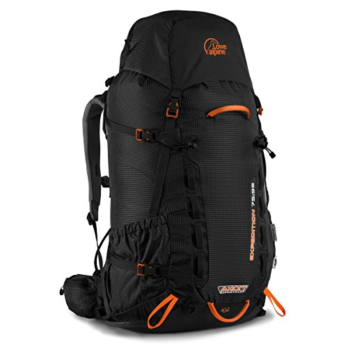 Lowe Alpine Expedition 75:95 Backpack - 4575cu in Black, (Lowe Alpine Waist Belt)