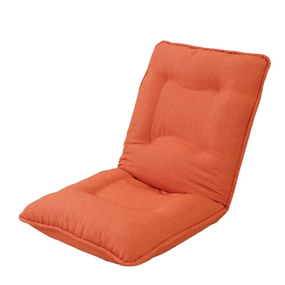 A GWM Sofa Stool Lazy Couch Foldable Single Small Sofa Bay Window Chair Foldable Sofa Stool (color   A)