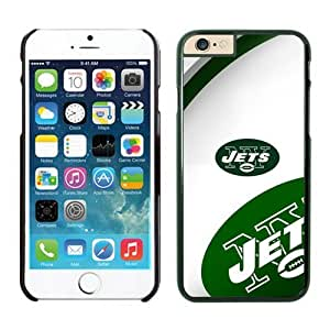 New York Jets Case For iPhone 6 Plus Black 5.5 inches