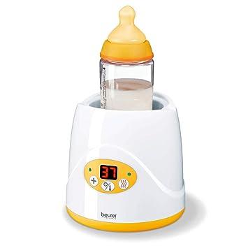 weiss-gelb Beurer BY 52 Babykostwärmer handelsübliche Fläschchen Gläschen