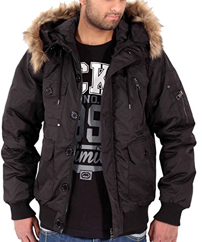 Big Dawg Special Mens Boys Short Parka Puffa Padded Removable Faux Fur on Hooded  Black Winter Jacket Coat (2XL): Amazon.co.uk: Clothing