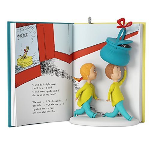 Hallmark Keepsake 2017 Dr. Seuss's What Pet Should I Get? Christmas Ornament ()