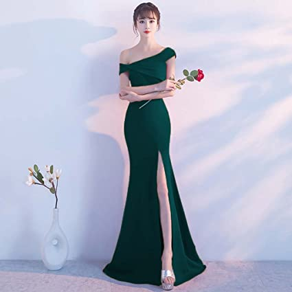 Vestidos formales verde oscuro