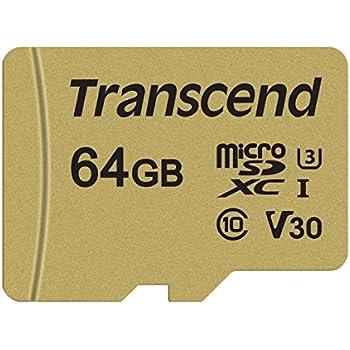 Amazon.com: Transcend ts32gusd500s 32 GB UHS-I U3 tarjeta de ...