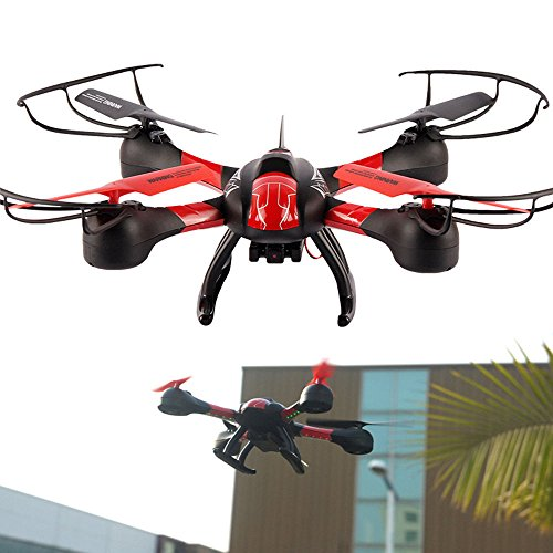 OLOGY® DRONE WITH FIRST PERSON VIEW FPV LIVE VIDEO FEED Quadcopter Camera Photo Video Feed Video Record Quadcopter Camera Multicopter Aerial Photography Drone UAV -- Special Upgraded AV AXIS - DRONE BLACK