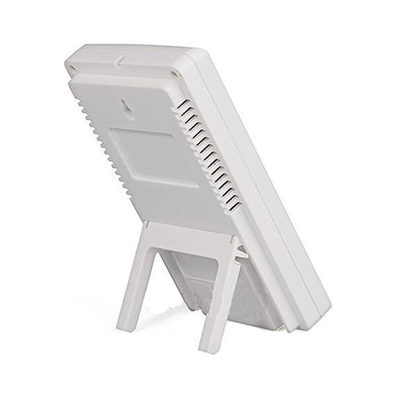 LCD digital medidor de temperatura y humedad en/al aire libre higrómetro termómetro de Nueva Precisión Calibre: Amazon.es: Hogar