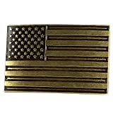 NPET USA Flag Belt Buckle for Men and Women (Fit 1.5