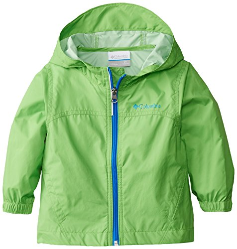 Columbia Toddler Boys' Glennaker Rain Jacket, Cyber Green, 3T